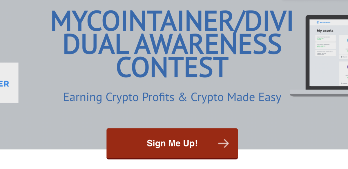 DIVI by MyCointainer Contest