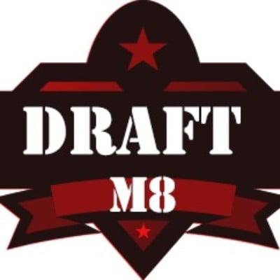 Draft M8 Airdrop Logo