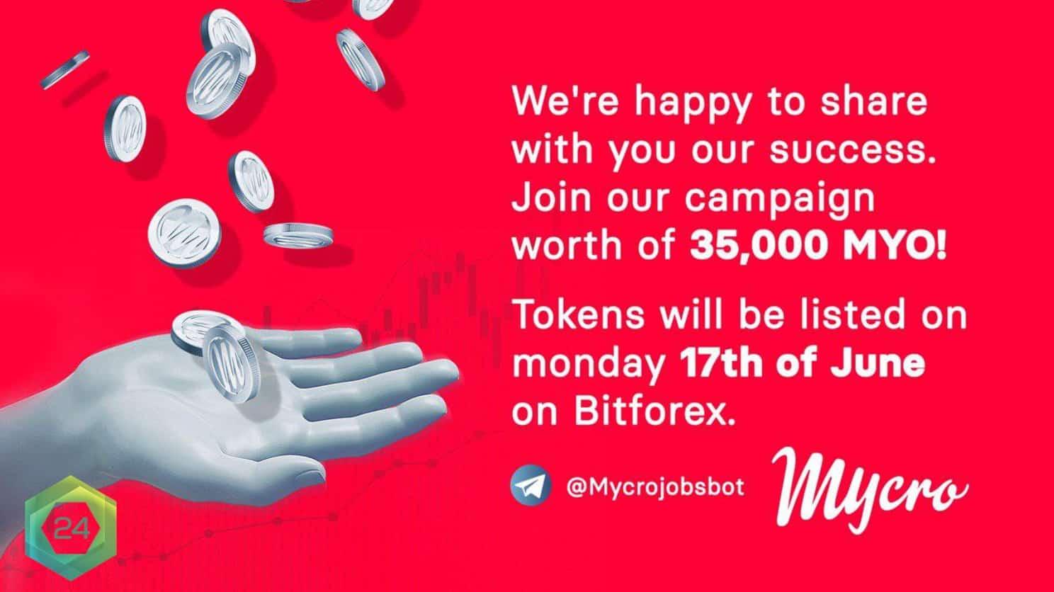 Mycro airdrop announcement