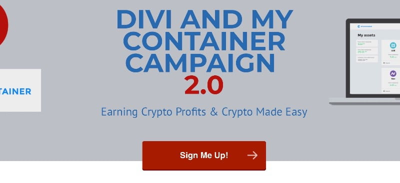 DIVI by MyCointainer Round 2