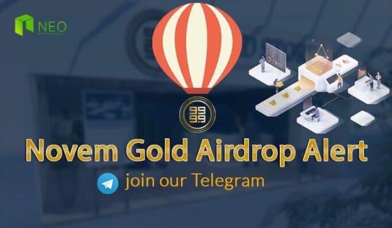 Novem Gold Airdrop