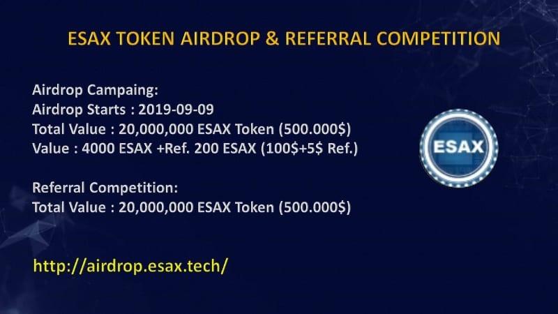 ESAX Token Airdrop