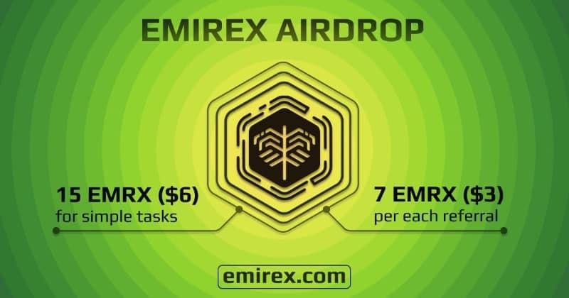 Emirex Airdrop