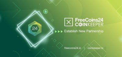 Freecoins24 x CoinKeeper