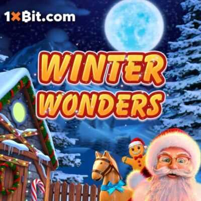 1Xbit Winter Wonders Logo