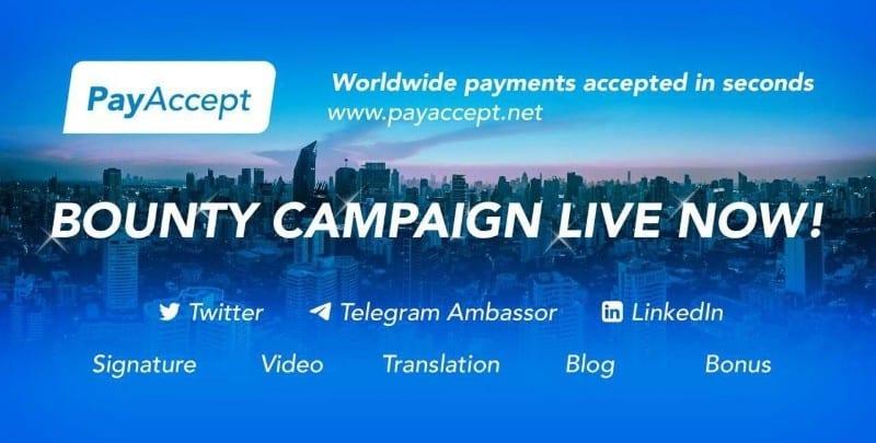 PayAccept Airdrop