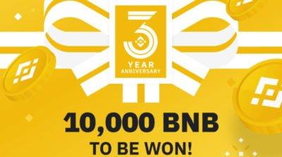 Binance Anniversary Event