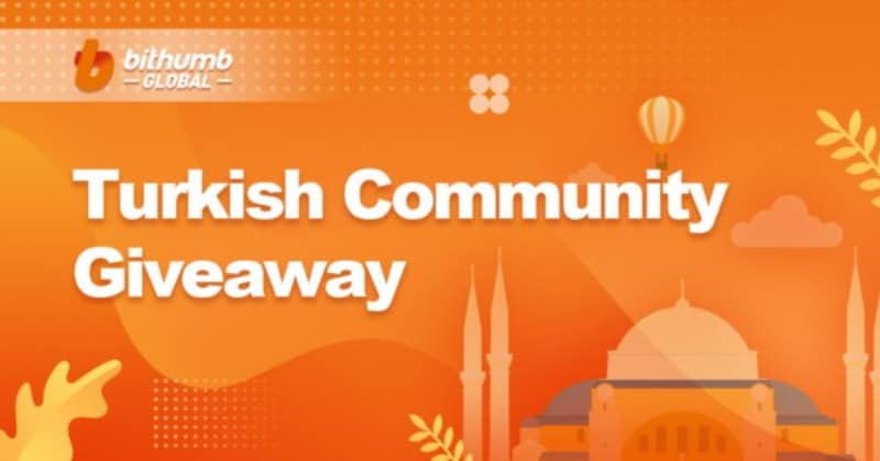 Bithumb Global Turkish Community Giveaway