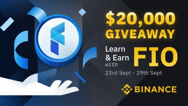 Binance Learn & Earn Giveaway (FIO)