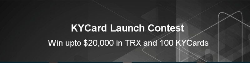 KYCard Launch Contest