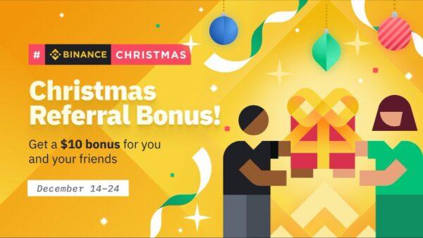 Binance Christmas Giveaway