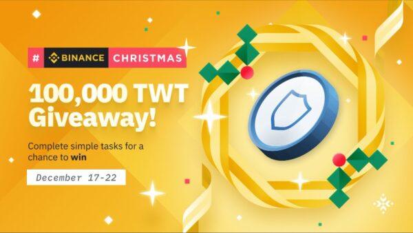 BinanceChristmas (TWT) Giveaway