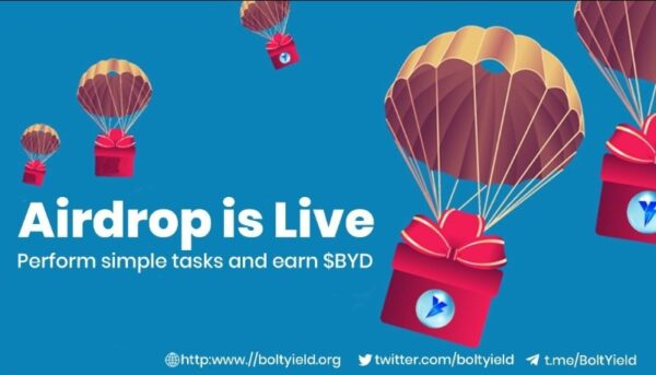 Bolt Yield Airdrop