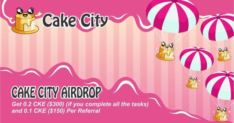 Cake City Airdrop