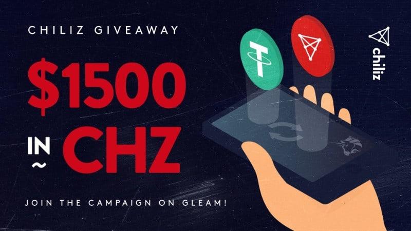 Chiliz Giveaway