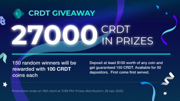MyCointainer CRDT Giveaway