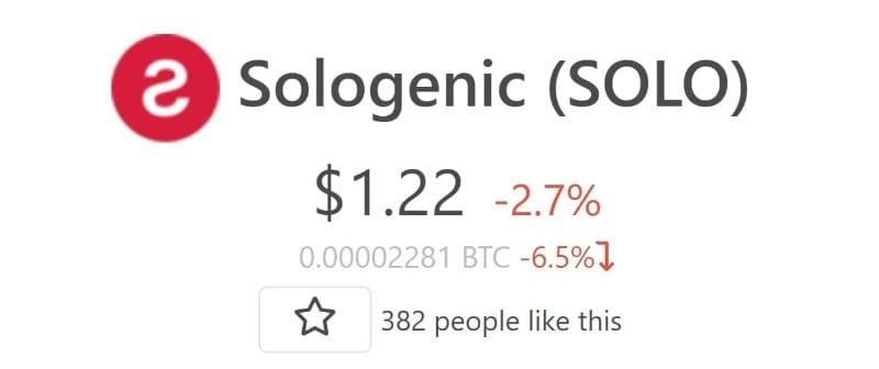 Sologenic-airdrop