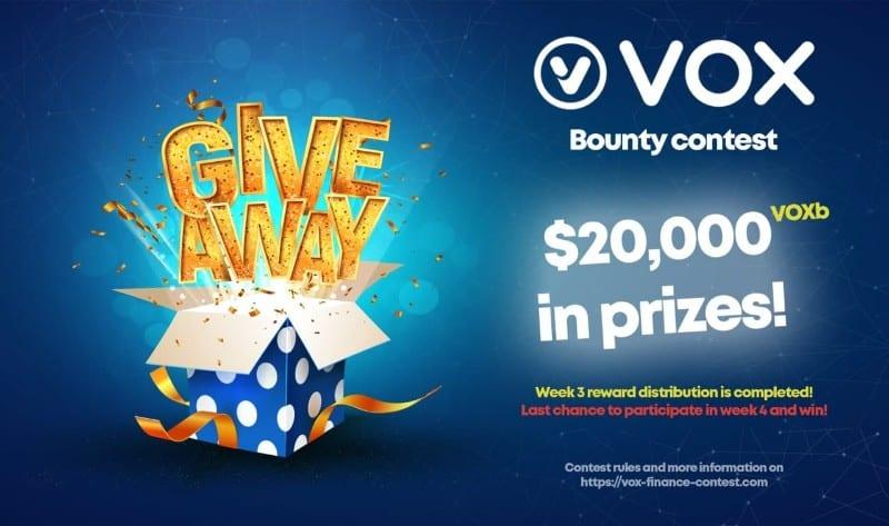 Vox Finance Contest Week 4