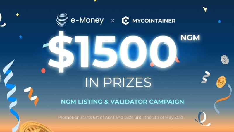 e-Money x MyCointainer Giveaway