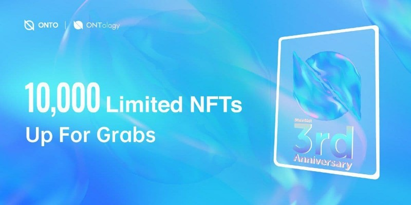 ONT 3rd Anniversary NFTs Giveaway